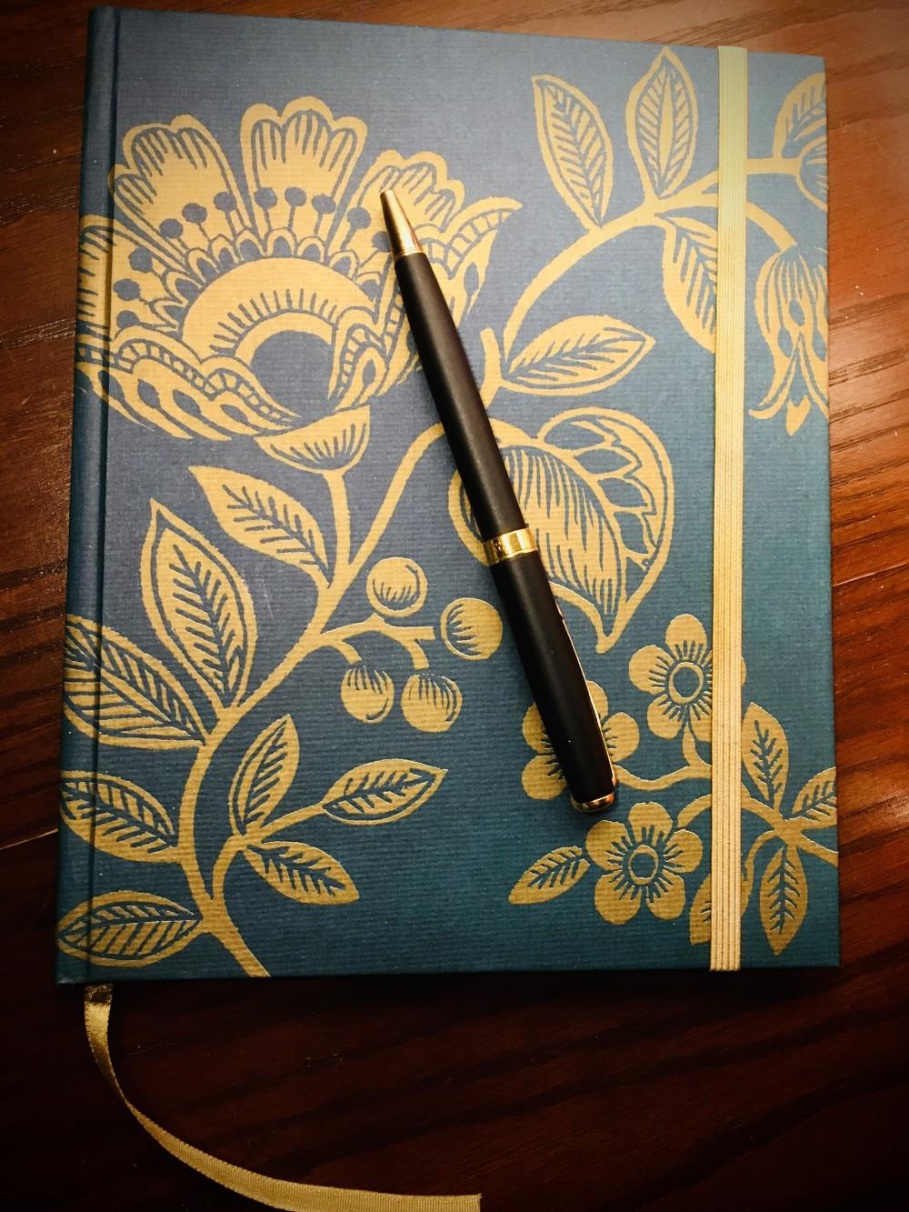 صفحة في دفتر يومياتها